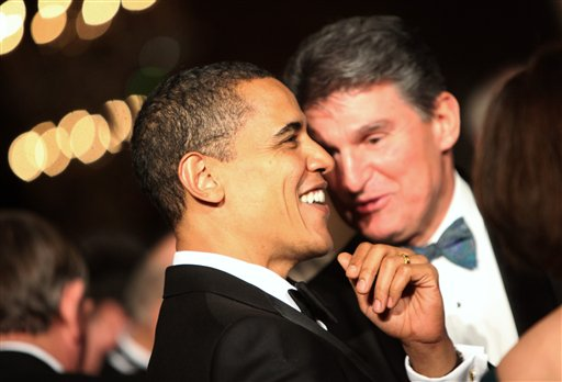 Barack Obama, Joe Manchin III